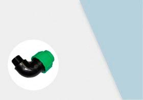 Угольники с наружной резьбой