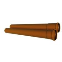 Труба ПВХ канализационная 250x6,2x6130 мм