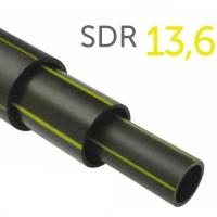 Труба полиэтиленовая ПНД газовая ПЭ-100 SDR 13,6 355x26,1 мм